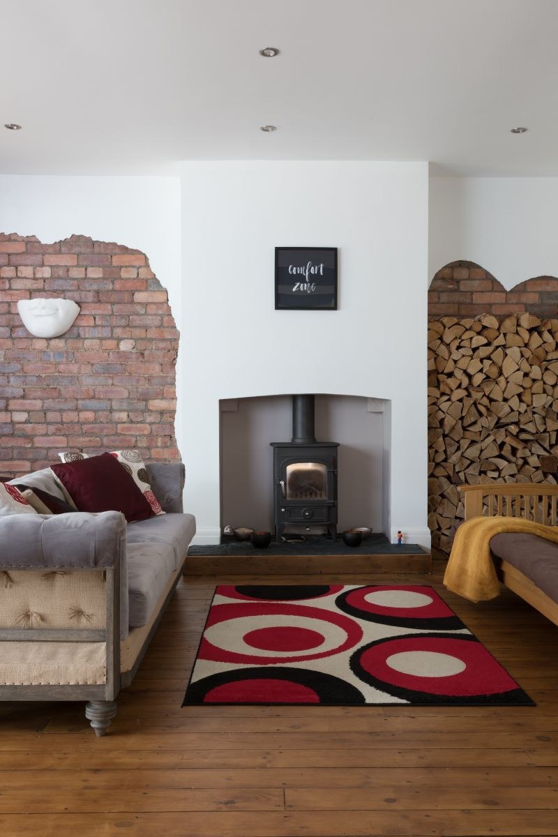 The Hunter Family's Exposed Brick Effect by Masterclass Kitchens