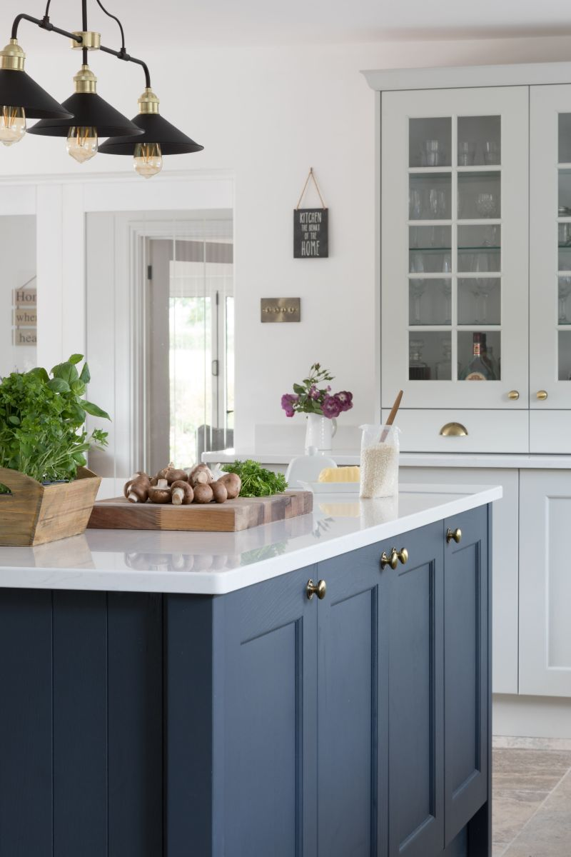 Masterclass Kitchens Blue Classic Shaker Kitchen Kitchen