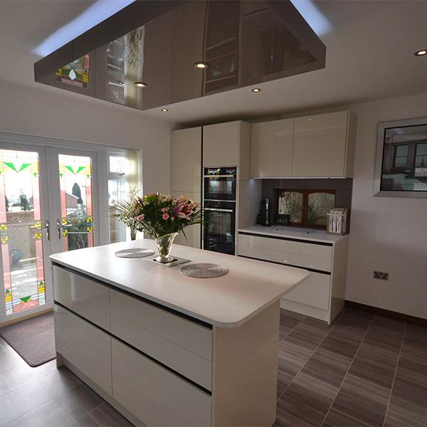 H Line Lumina Mussel Kitchen Real Kitchens Design