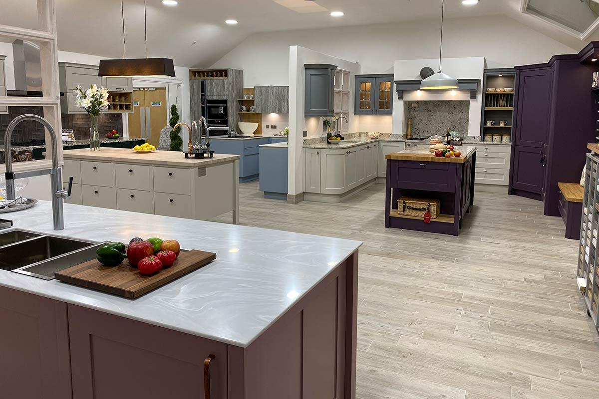 ASE Kitchen showroom in Ludlow