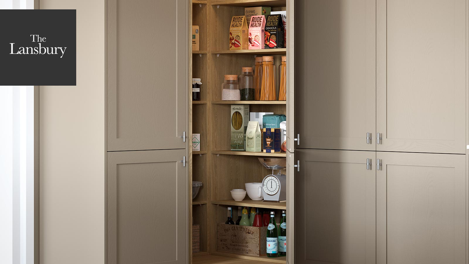 Our Kitchen Corner Pantry - The Lansbury