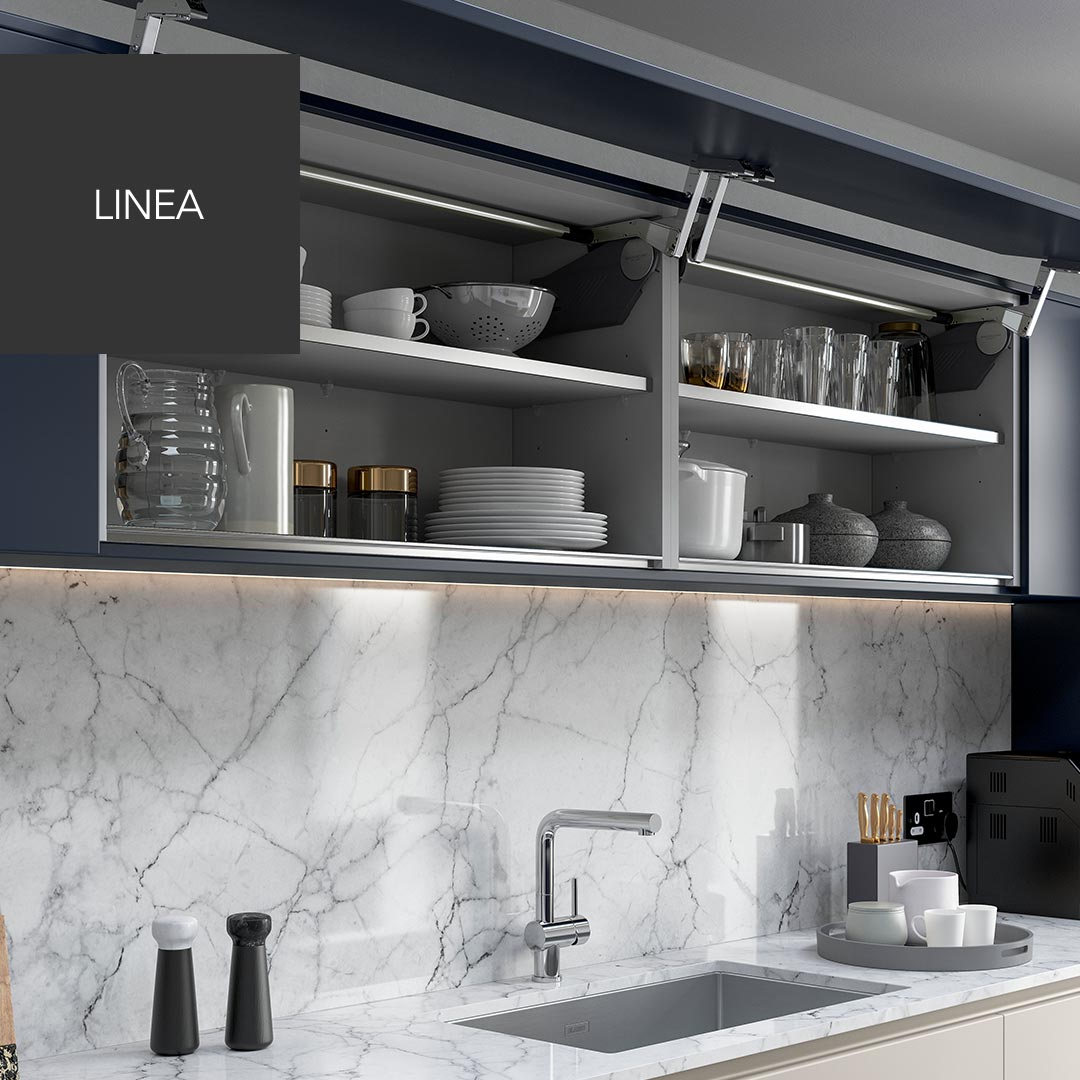 Linea widest ever cabinets