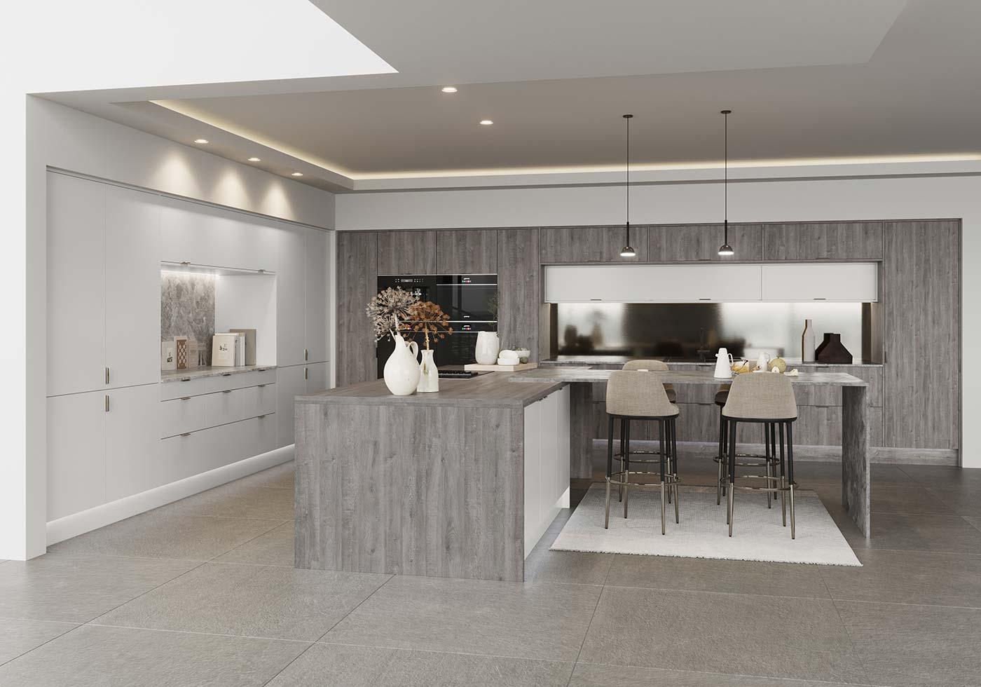 Grey Kitchen Ideas Light Dark Ideas Masterclass Kitchens