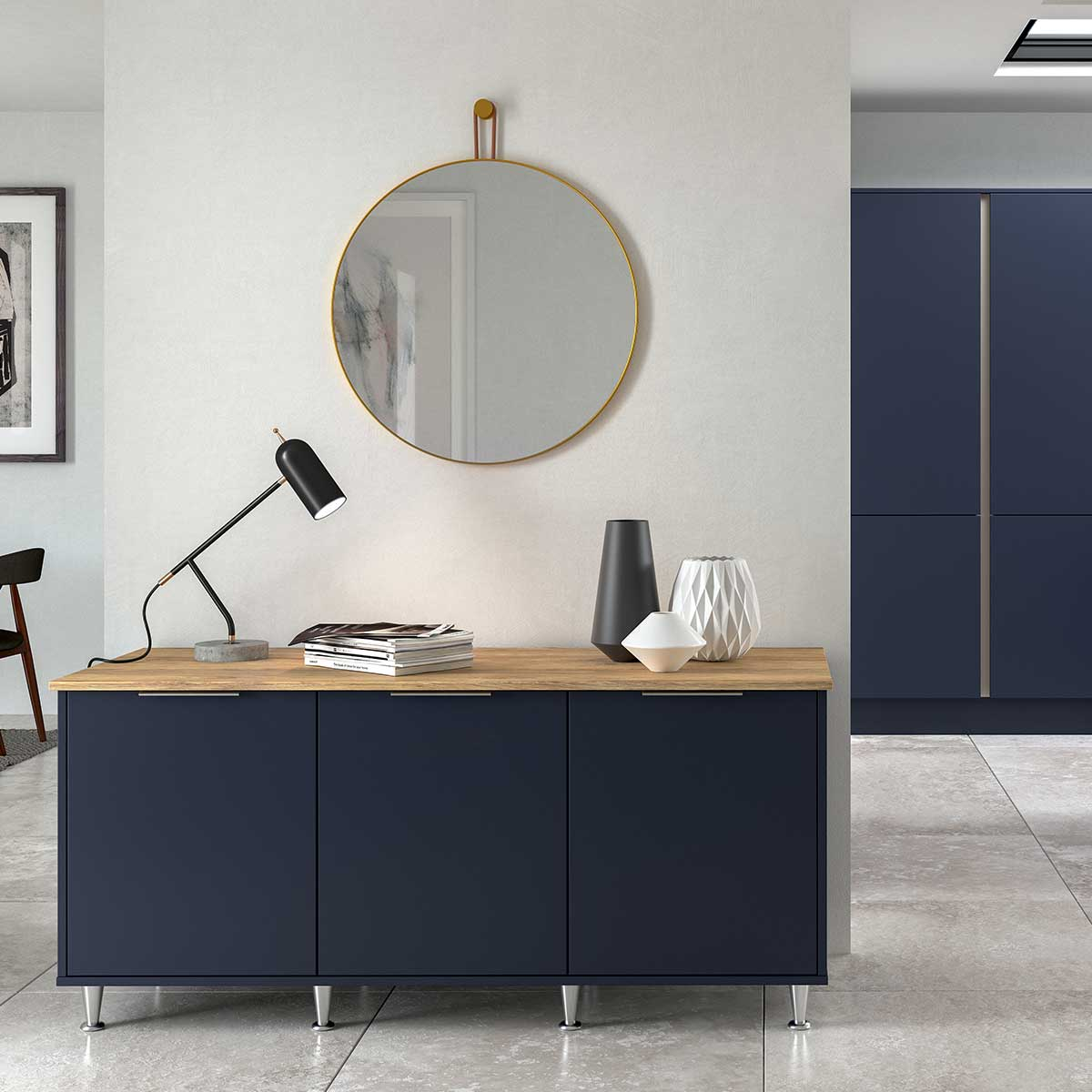 Larna sideboard in Graphite.