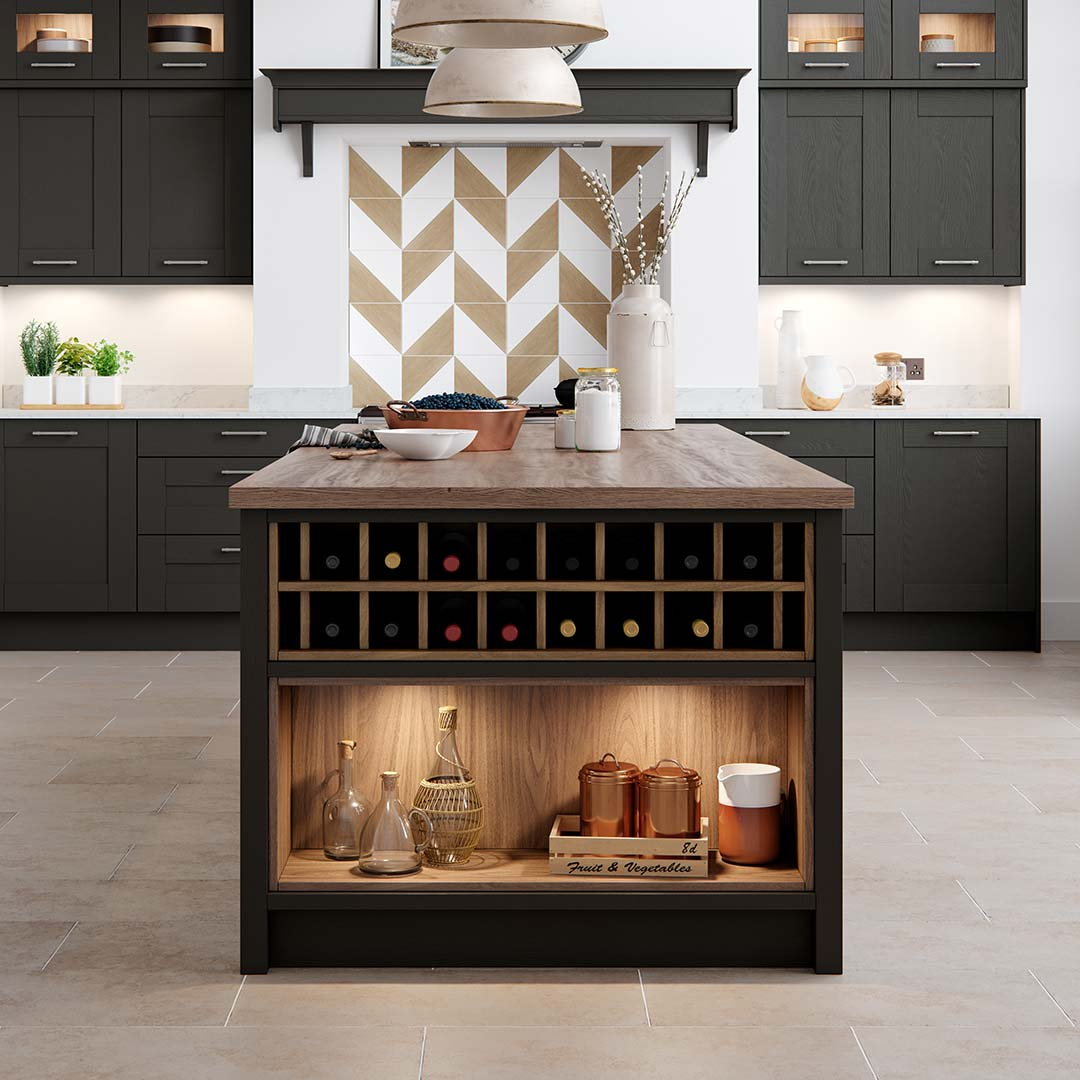 Open Shelving Kitchen Design Features Masterclass Kitchens