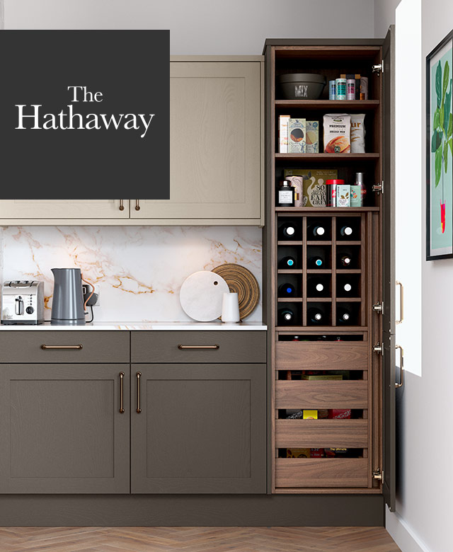 The Hathaway Kitchen Pantry