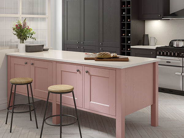 Painted kitchens by Masterclass Kitchens