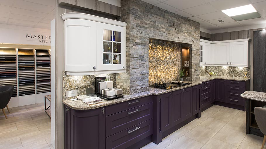 See beautiful kitchen displays in showrooms