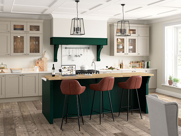 Shaker kitchens by Masterclass Kitchens