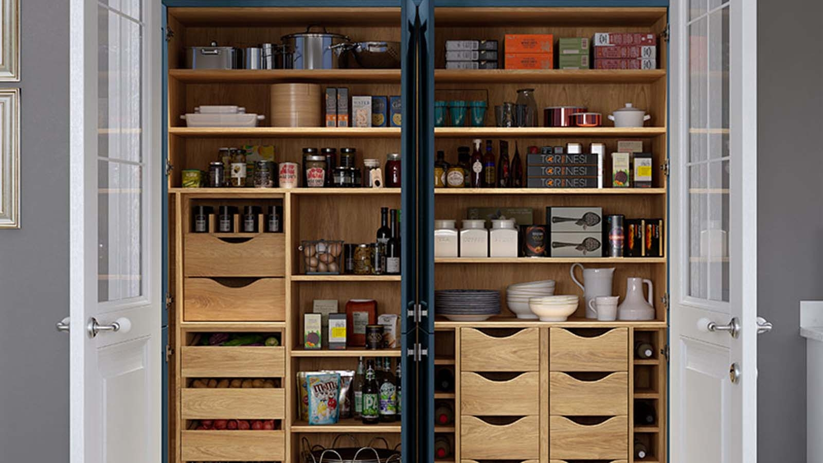 9 surprisingly clever ideas for modern kitchens organisation